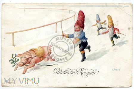 Świnka Noworoczna 1915