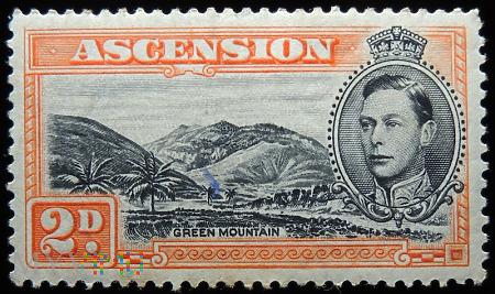 Wyspa Wniebowstąpienia Ascension 2d Jerzy VI