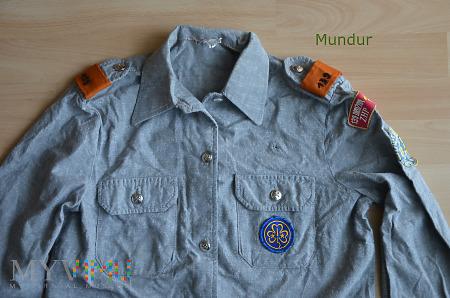 Mundurek (koszula) harcerki ZHP