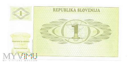 Duże zdjęcie Słowenia - 1 Tolarjev, 1992r.
