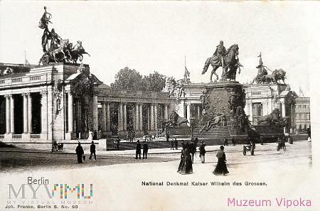 Berlin - nieistniejący pomnik: cesarz Wilhelm