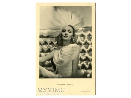 Marlene Dietrich Verlag ROSS A 1211/1