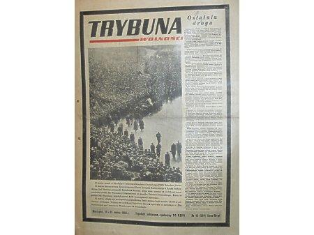 Duże zdjęcie TRYBUNA WOLNOŚCI nr.12 19-25.03.1956