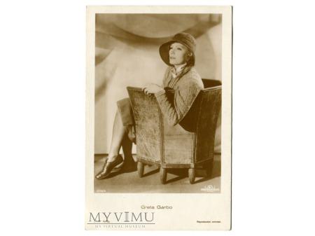 Greta Garbo Verlag Ross 5716/4 Vintage Postcard