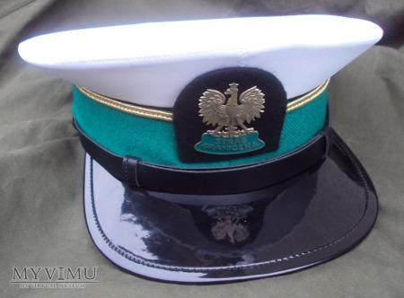 Czapka letnia podoficera SG (morski oddział, 2003)