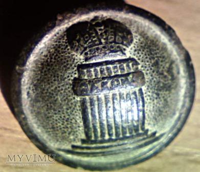guzik urzędniczy 1834 - min. sprawiedliwości