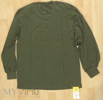 Koszulka z długimi rękawami khaki 519/MON