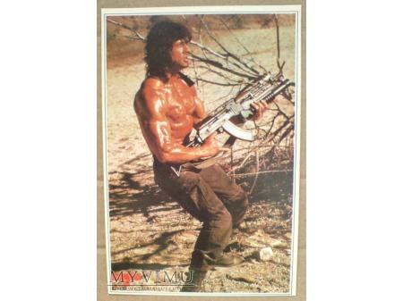 Sylvester Stallone RAMBO FILM Aktor pocztówka