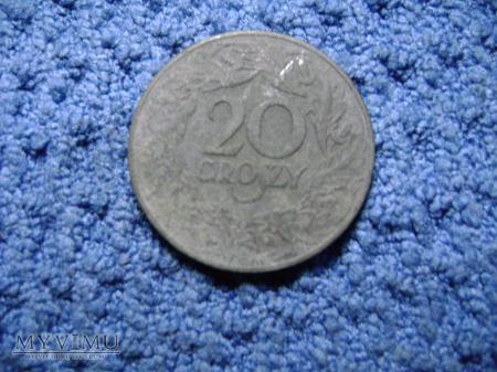 Duże zdjęcie 20 Groszy 1923 Zn