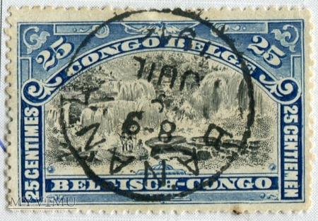 Kongo Belgijskie Congo Belge Yt nr 57 Michel nr 18