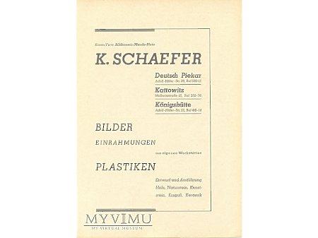 Zakład Sztuki Koscielnej Schaefer-reklama