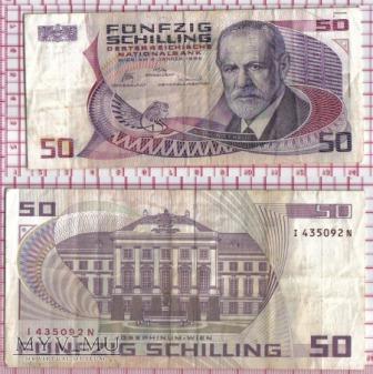 50 szylingów- Austria