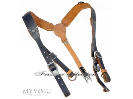 """Szelki szturmowe typu """"Y"""" m39 - skórzane (2)"""