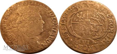 Szóstak koronny 1755 August III SAS