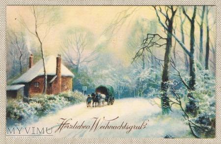 c. 1920 Wesołych Świąt