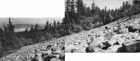 Góry Świętokrzyskie Łysa Góra gołoborze
