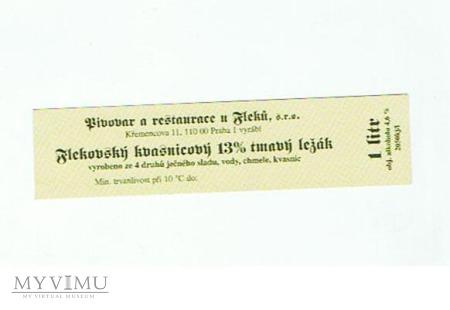 flekovský kvasnicový 13% tmavý ležák