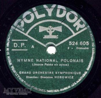 Hymn Polski na Polydorze