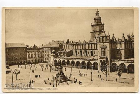Kraków - Rynek - Sukiennice - 1920
