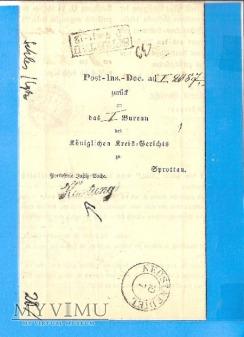 Nowe Miasteczko - Szprotawa - 1907 r.