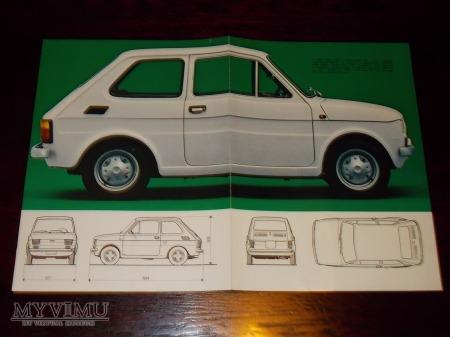 Prospekt FIAT 126