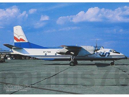 An-26, SP-FDO, EXIN