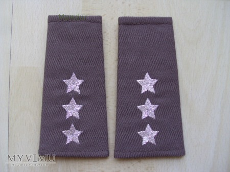 Pochewki z oznaką stopnia - porucznik SG