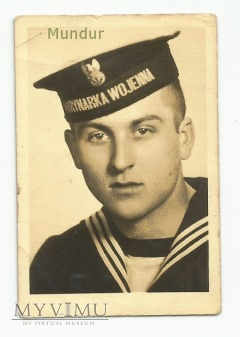 Zdjęcie portretowe: marynarz z 1956r.