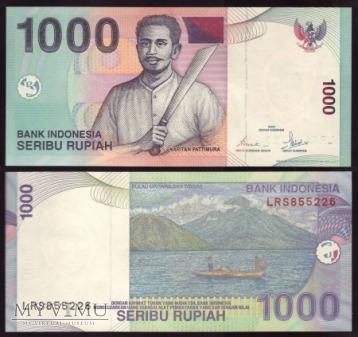 Indonezja, 1000 rupii 2007r.