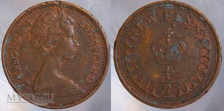 Wielka Brytania, half penny 1976