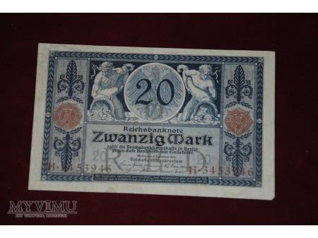 20 Mk Niemcy