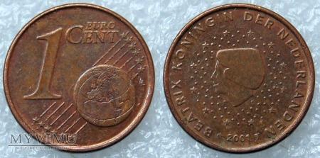 1 EURO CENT 2001