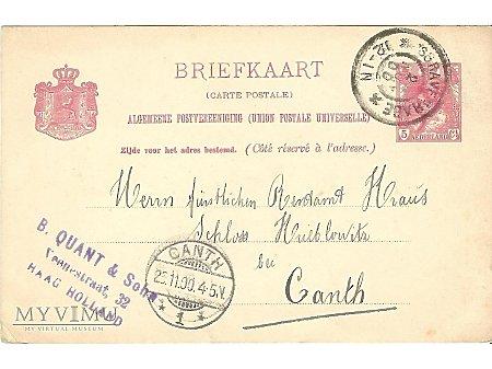Holenderska kartka pocztowa