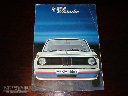 Prospekt BMW 2002 TURBO