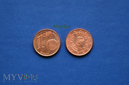 Moneta: ain euro cent - Austria