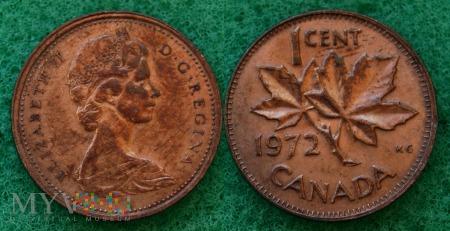Kanada, 1 CENT 1972