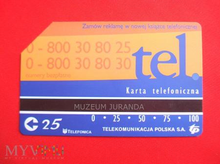Karta magnetyczna 1026