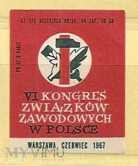 Duże zdjęcie VI Kongres Zw.Zawodowych w Polsce.Bystrzyca