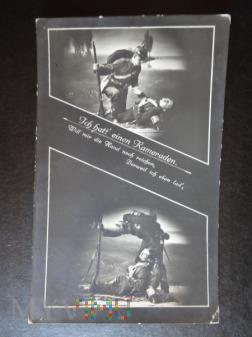 Kartka Pocztowa - koledzy - pożegnanie