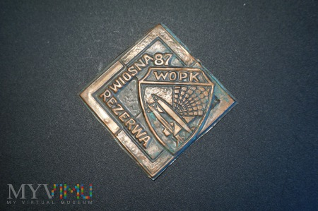 Zapinka do Chusty Rezerwisty WIOSNA 87; WOPK
