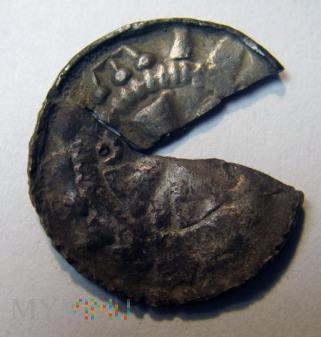 Niemcy, Saksonia - Biskupi Sascy, denar krzyżowy