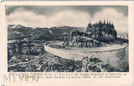 Karkonosze - Zakręt śmierci - 1952