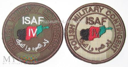 ISAF Afganistan. Zmiana IV.