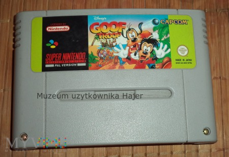 Goof Troop  - gra SNES Nintendo