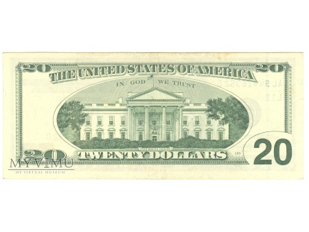 20 USD 1996 FEDERAL RESERVE NOTE