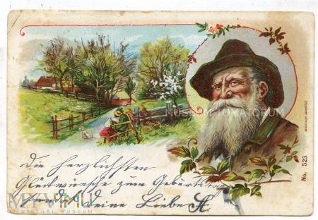 Pocztówka artystyczna 1901