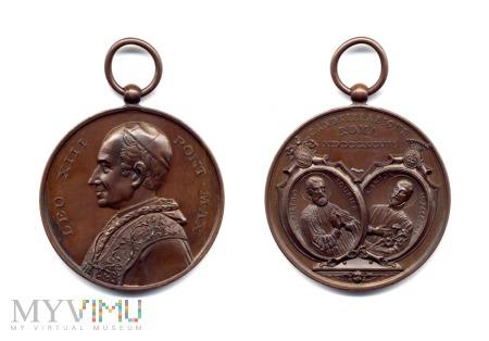 Medal kanonizacyjny - św. Piotr Fourier