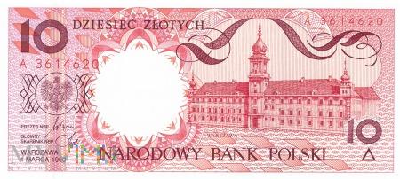Polska - 10 złotych (1990)