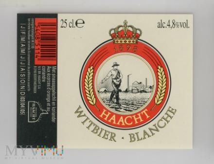 Duże zdjęcie Haacht, Witbier Blanche