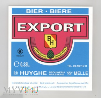 Huyghe-Melle Export